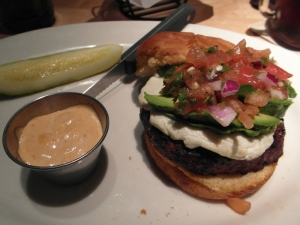 Pico de Gallo Hamburger at Mity Nice Bar & Grill